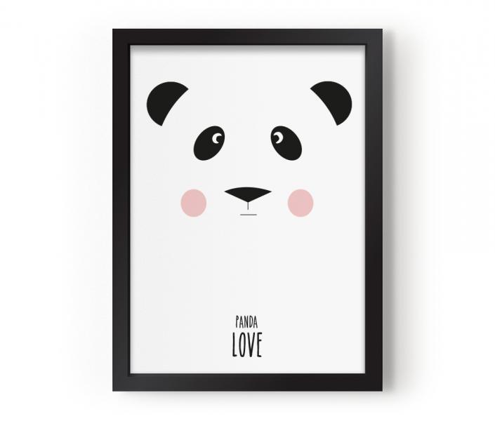 EEF LIllemor Poster Panda Love