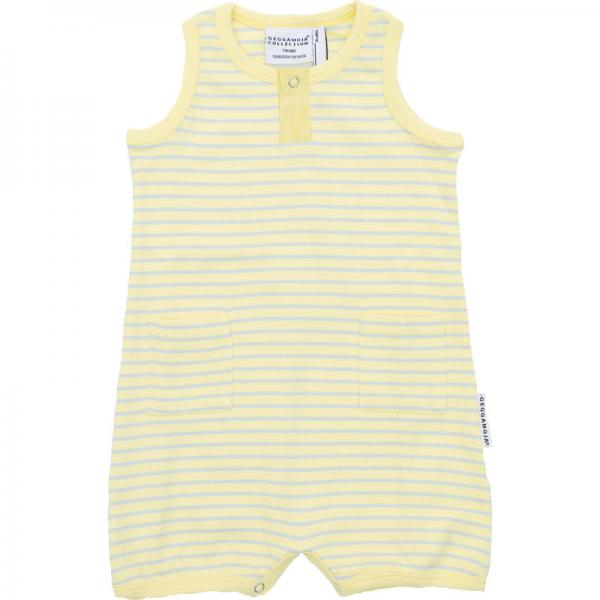 Geggamoja Baby summer Suit Yellow