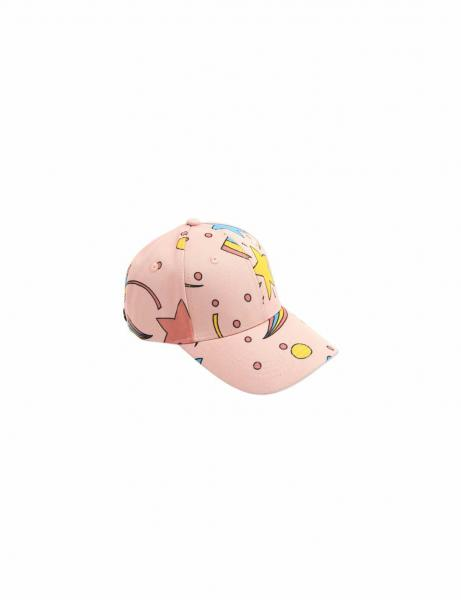 Space AOP Cap Pink