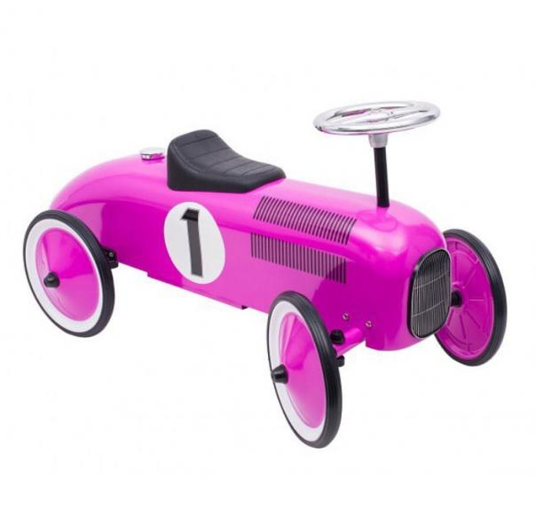 Goki Ride-on vehicle purple Auto Lilla