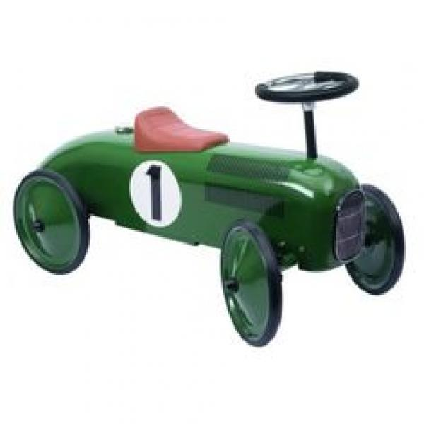 Goki Ride-on vehicle Green Auto