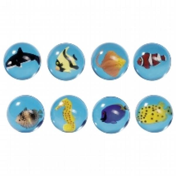 Goki Bouncing ball 3D Fishes- Kummipall Kalad