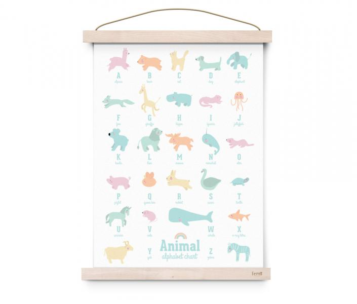 EEF Lillemor  Poster Animal Alphabet