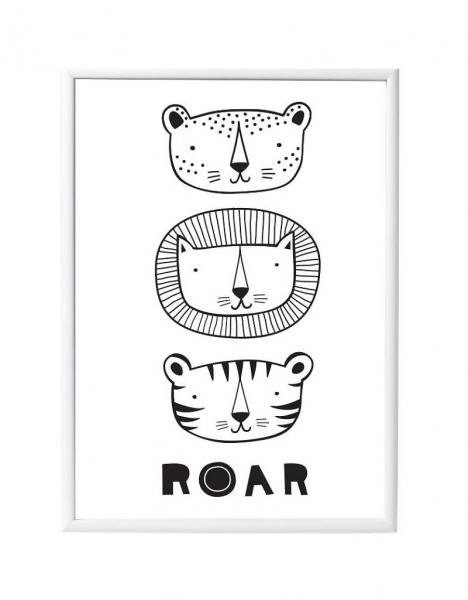 Little Lovely Poster: Roar