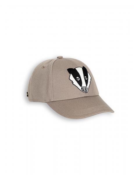 Mini Rodini Badger EMB CAP Grey
