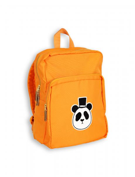 Mini Rodini Panda Backpack Orange