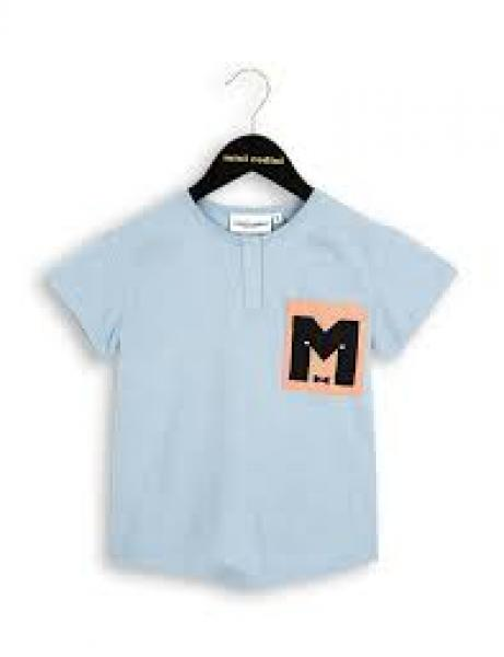 Mini Rodini M Baseball Tee LT Blue