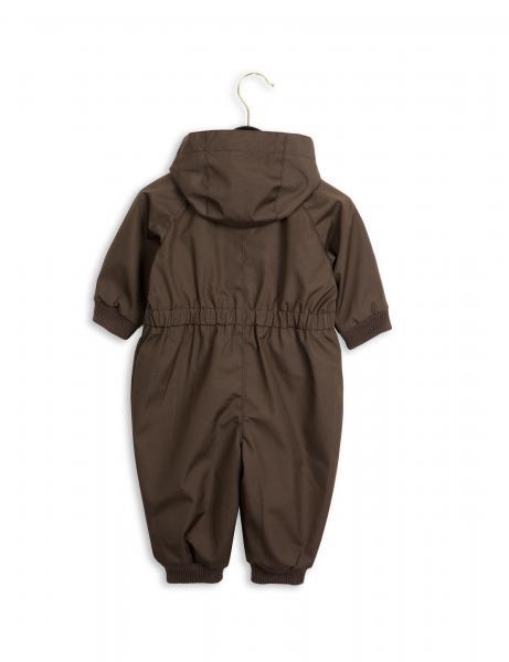 Mini Rodini Pico Baby Overall DK Brown