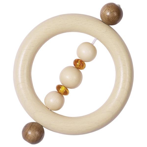 Goki Touch ring amber