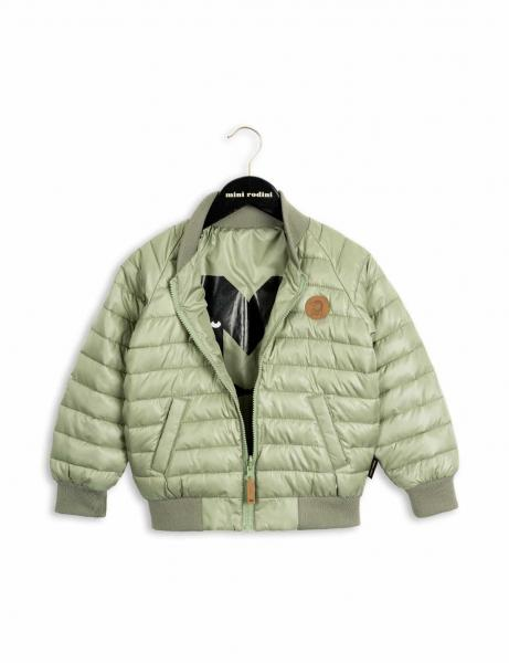 Mini Rodini Reversible Insulator Jacket Green