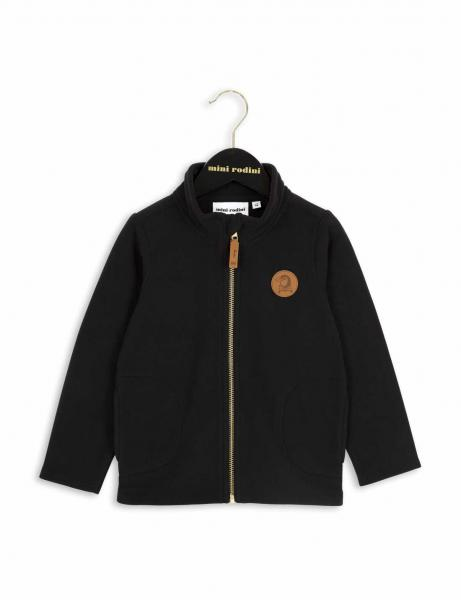 Mini Rodini Fleece Jacket Black