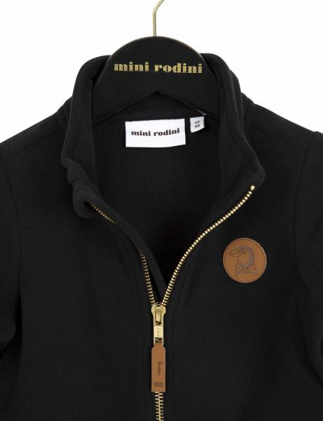 Mini Rodini Fleece Jacket Black