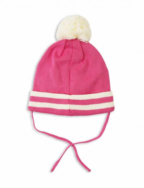 Mini Rodini Stripe Hat pink