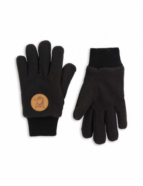 Mini Rodini Fleece Glove Black