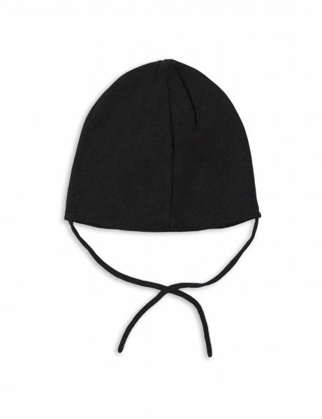 Mini Rodini Panda hat Black
