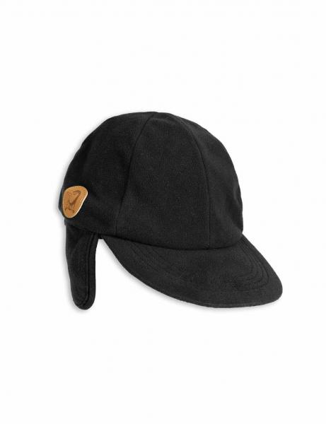 Mini Rodini Fleece Cap Black