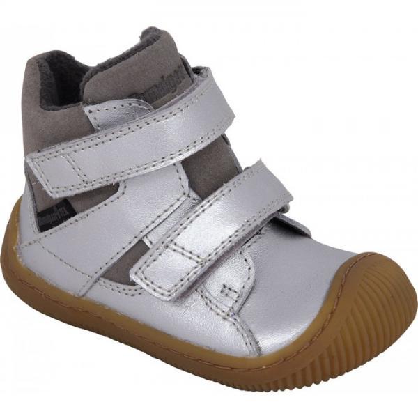 Bundgaard Walk Velcro Tex Silver