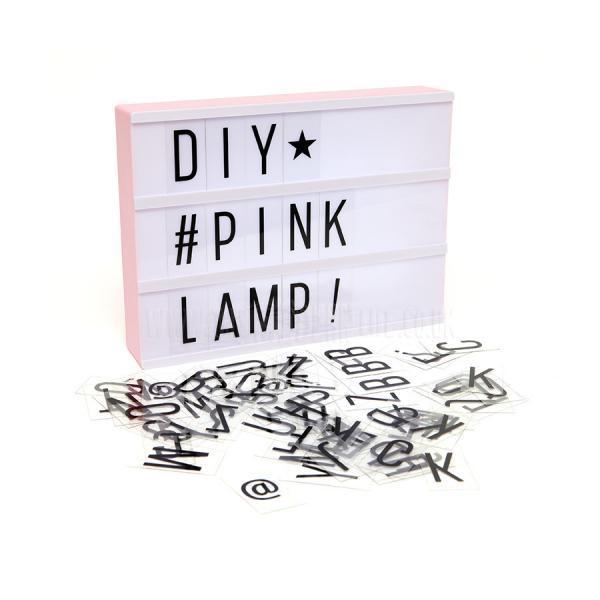 ALLC Lightbox Pink A4