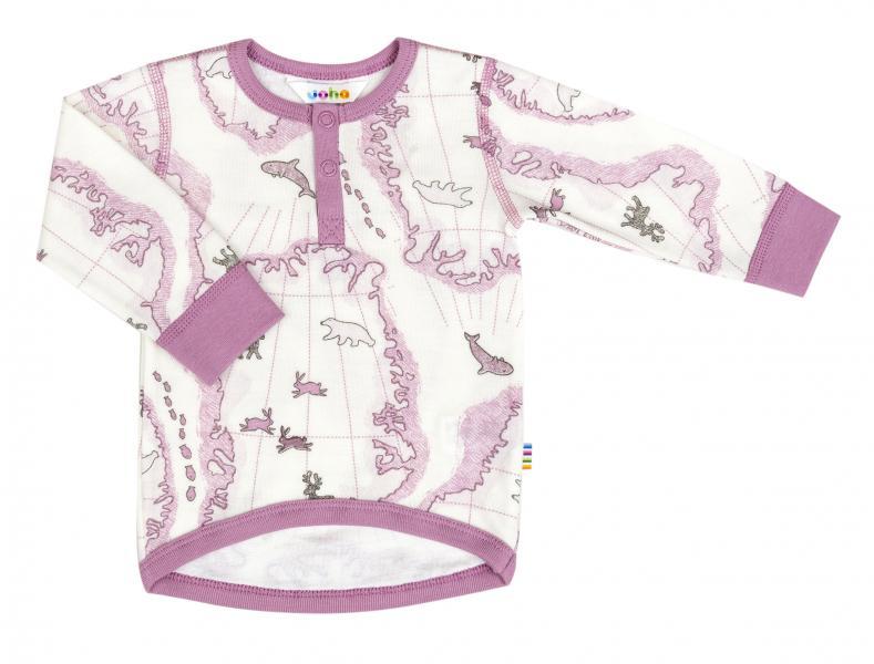 Joha Blouse 18866   w/long sleeves Map AOP G 2212