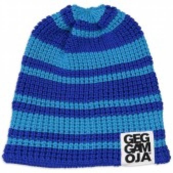 Geggamoja Knitted Beanie Blue/Turg 13