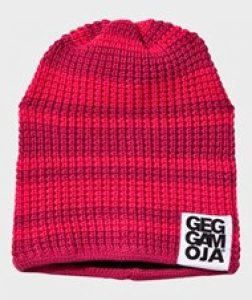 Geggamoja Knitted Beanie Rasberry/coral 14