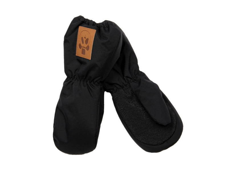 Mini Rodini Alaska Solid Glove Black