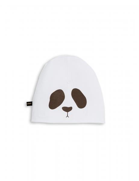 Mini Rodini reversible hat Panda