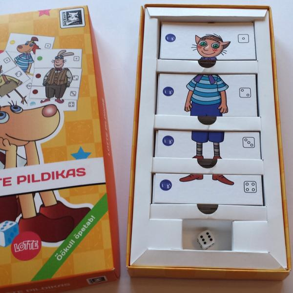 "Board Game ""Lotte Pildikas"""
