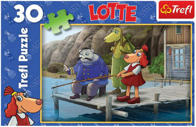 "Puzzle Lotte 30 pcs ""Fishing"""