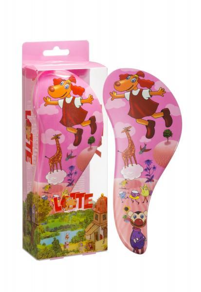 Detangling Hairbrush Lotte Pink