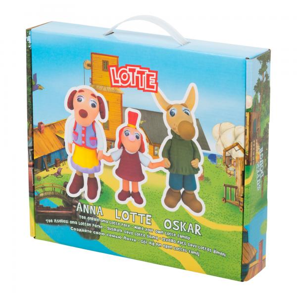 "Modeling Compound Set ""Lotte Family"""