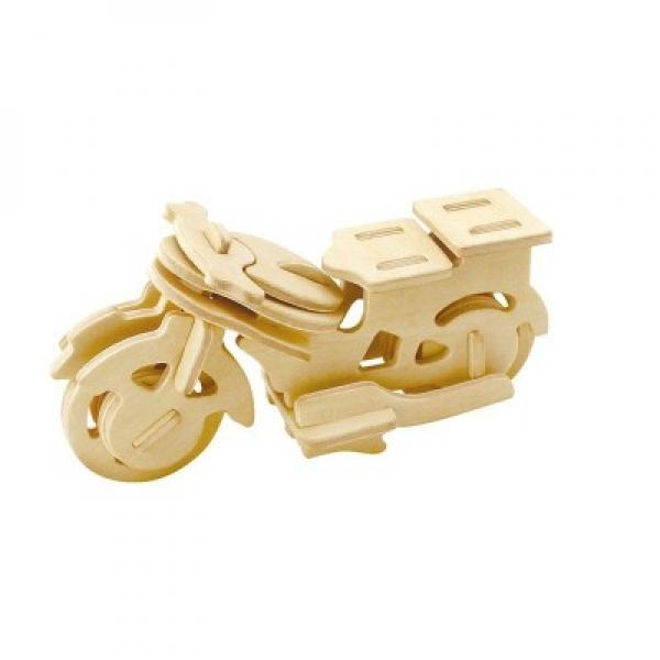 "Wooden 3D Puzzle ""Motorcycle"""