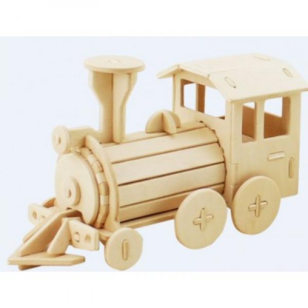 """Wooden 3D Puzzle """"Train"""""""