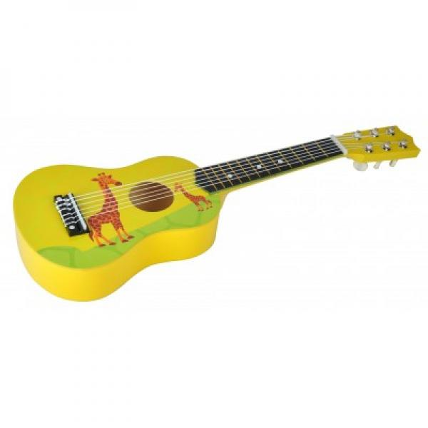 Wooden Guitar Yellow