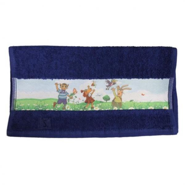 Hand Towel 30x50 Blue