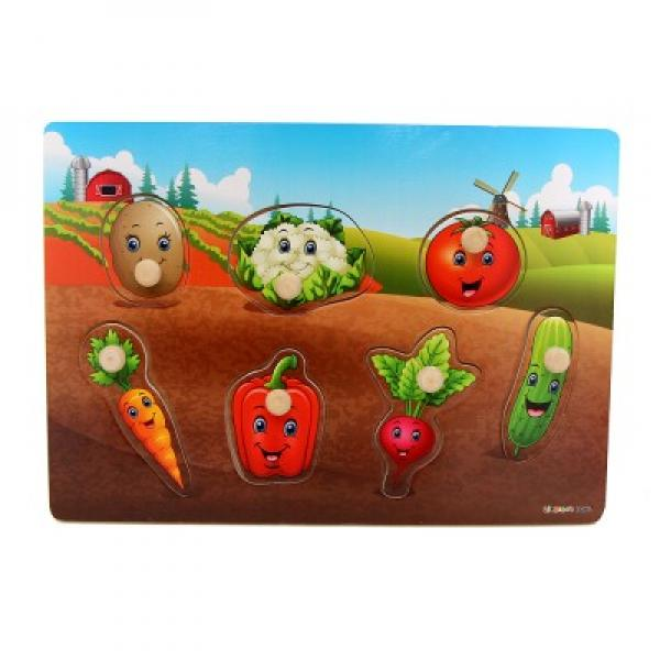 "Puzzle Wooden ""Vegetables"""