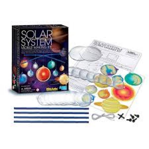 """4M Teaduskomplekt """"Pimedas helendav päikesesüsteem"""""""