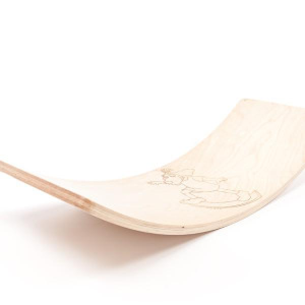Wooden Rocker Board Lotte