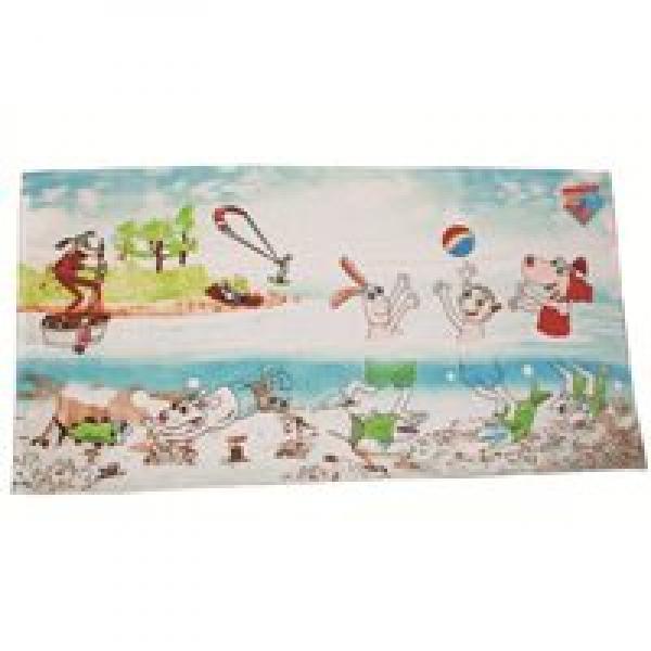 Bath Towel 3 Friends 75x150