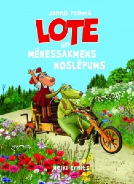 """Raamat """"Lotte ja kuukivi saladus"""" LAT"""
