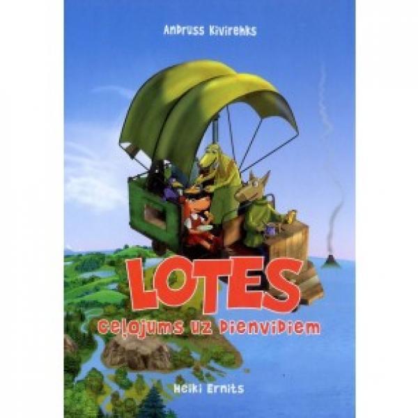"""Raamat """"Lotte reis lõunamaale"""" LAT"""