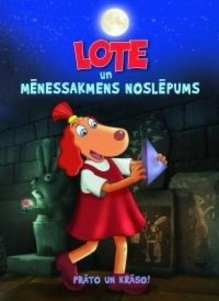 """Värviraamat """"Lotte ja kuukivi saladus"""" LAT"""