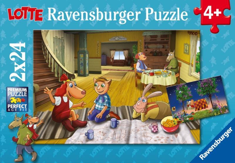 Puzzle Lotte 2x24