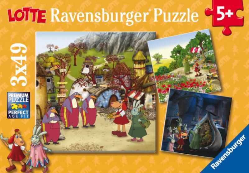 Pusle Lotte Ravensburger 3x49