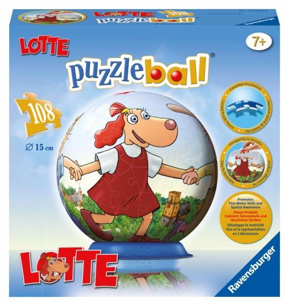 Puslepall Lotte