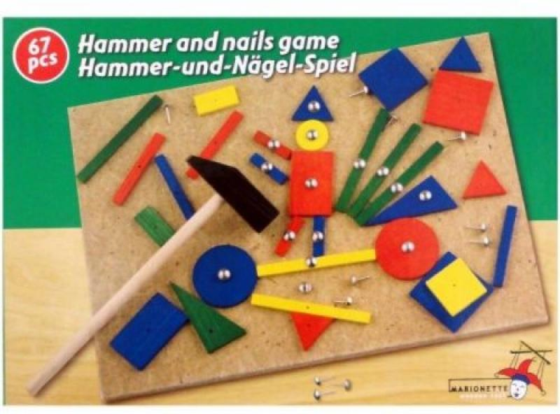 Hammer and Nails Game