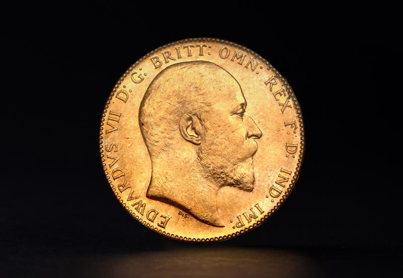 Great Britain Gold Sovereigns Edward VII