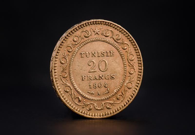Tunesisk 20 franc