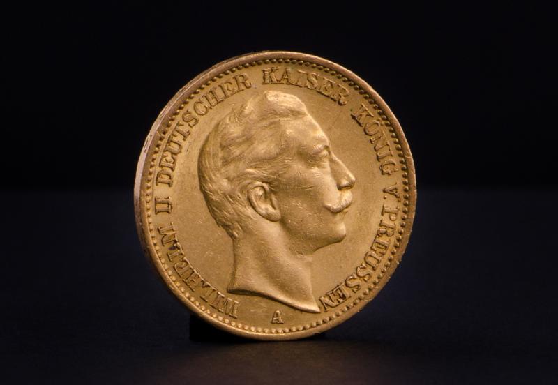 German 20 Marks Wilhelm II