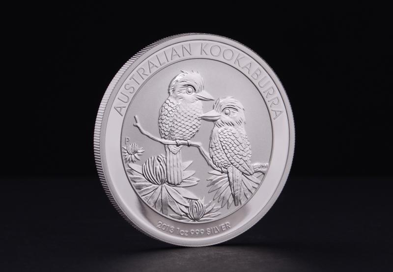 2013 1 oz Australske Kookaburra Sølvmønt